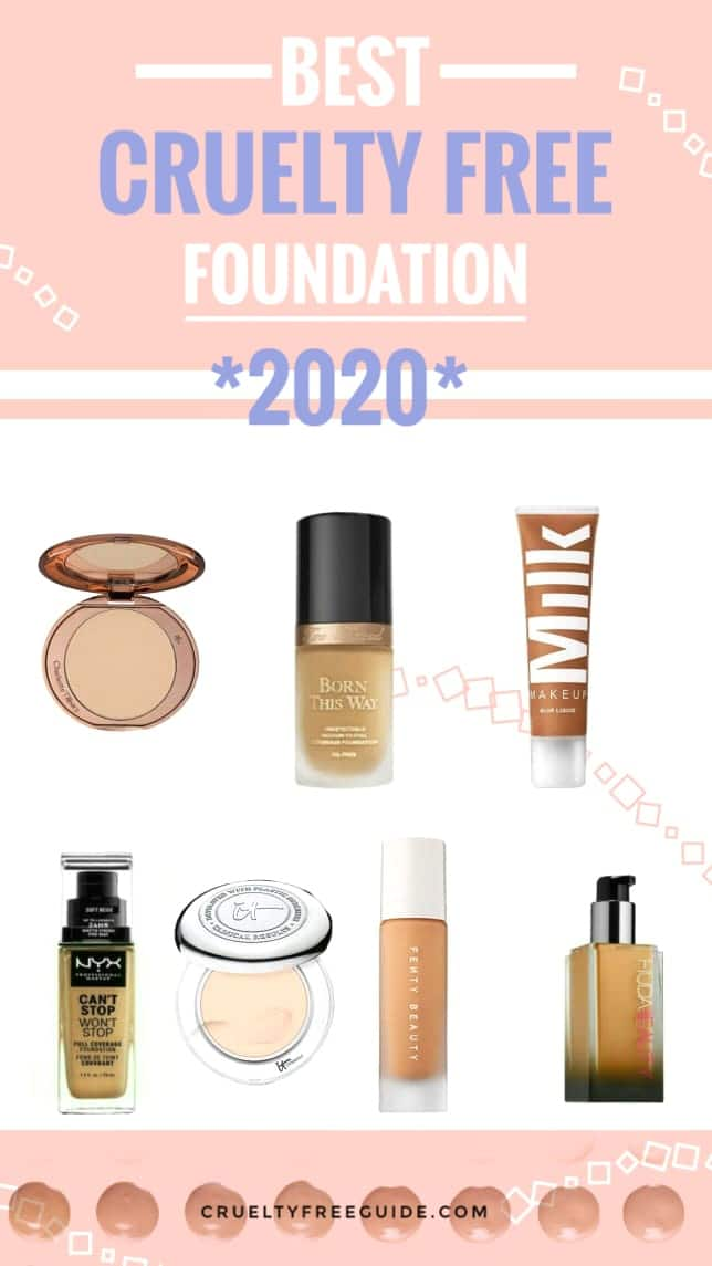 best cruelty free foundation for oily skin uk