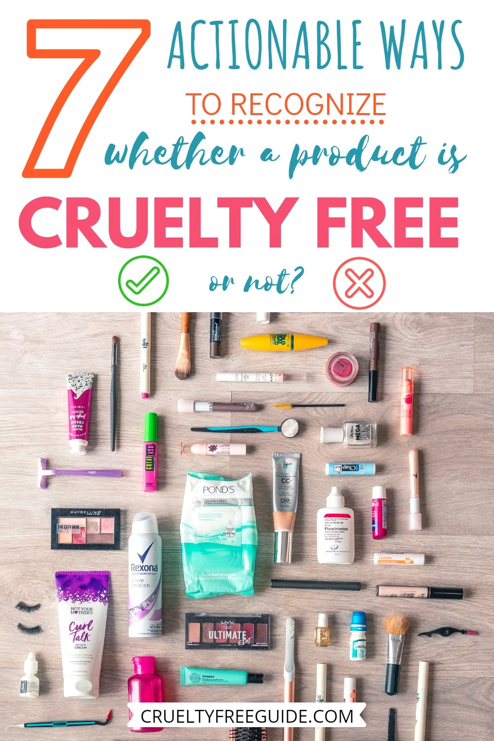 How to Recognize Cruelty Free Products