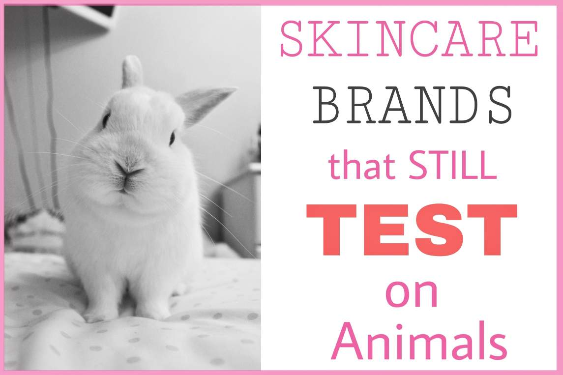 Skin Care Brands STILL Testing on Animals 20  Cruelty Free Guide