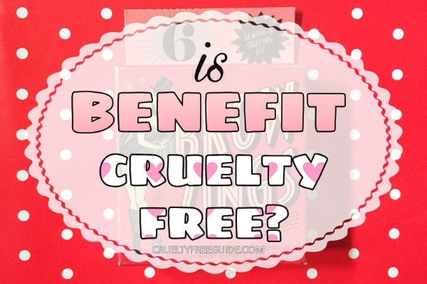 Benefit tests animals