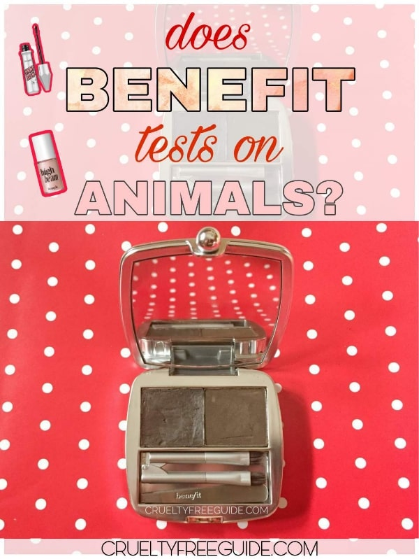 Does Benefit tests on animals