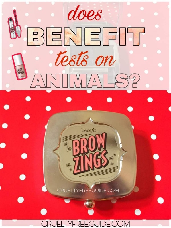 is Benefit vegan