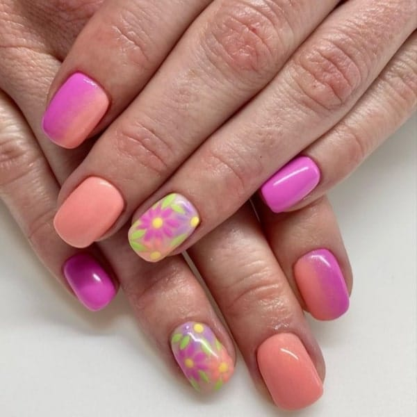colorful nails ideas