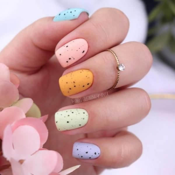 nail art ideas short